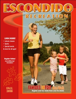 Escondido Recreation Brochure cover
