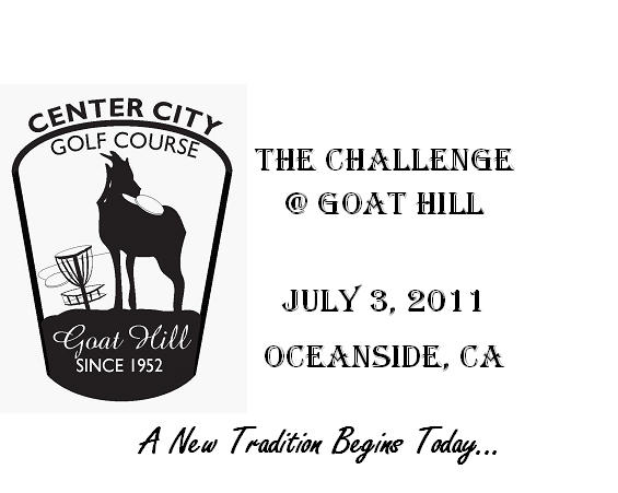 The Challenge Goat Hill 1 Week Away San Diego Aces