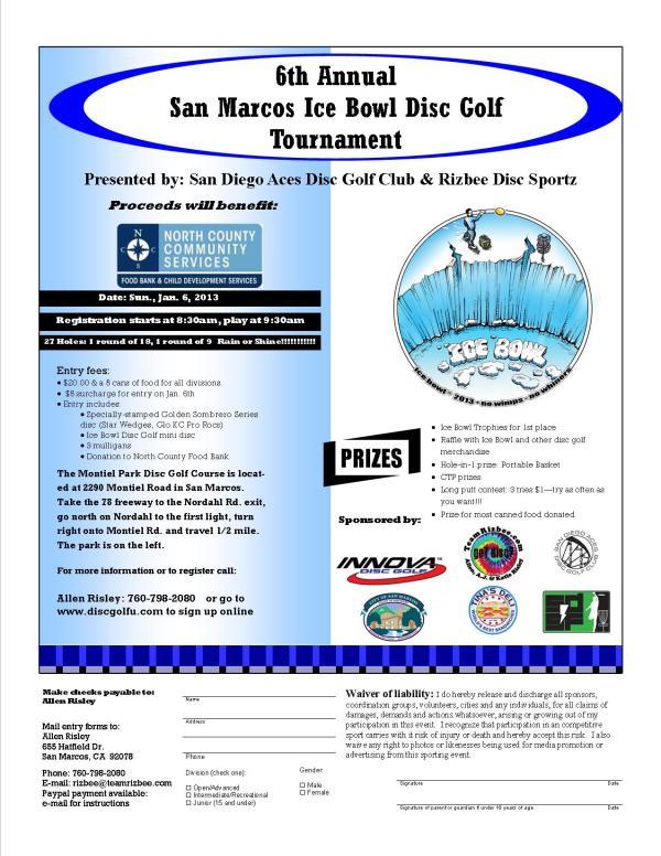 Montiel Ice Bowl 2013