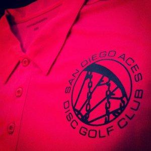 Pink Drifit Polo